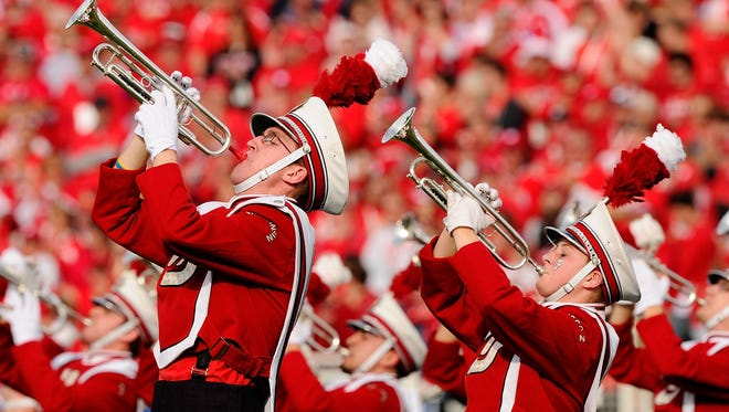 The UW Marching Band will perform Sept. 2 at a pep rally outside Titletown Brewing Co. the night before the Wisconsin-LSU game at Lambeau Field.