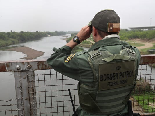 in a border town locals very fond of their federal border patrol