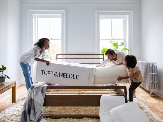 lt's hard to believe this Tuft & Needle mattress arrived