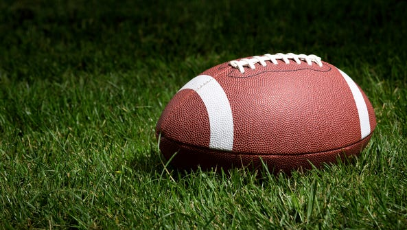 Stock photo of a football