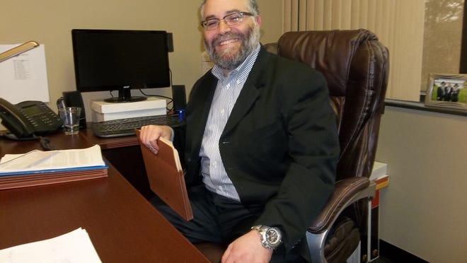 """Rabbi Schneur Stephen Polter, 44, of Oak Park, invented the word """"sofralia,"""" which means """"nieces and nephews."""""""