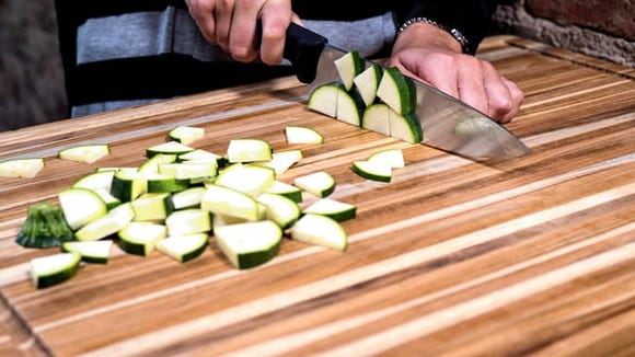 Our favorite carving board from Teakhaus is useful year-round.