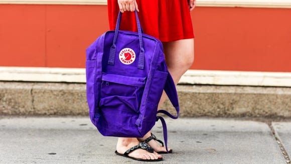 We love the Fjallraven backpack.