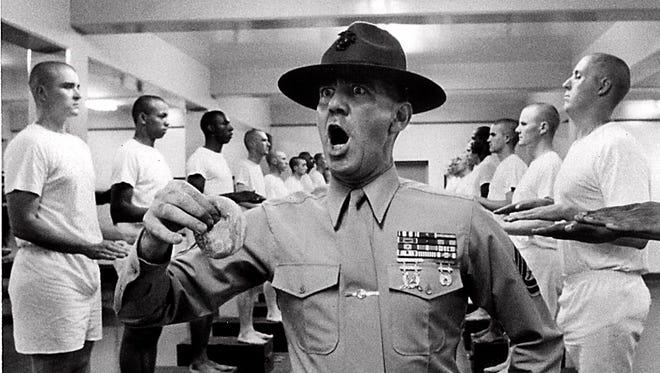 Herr co-wrote 'Full Metal Jacket,' starring Lee Ermey as fearsome Gunnery Sgt. Hartman.'