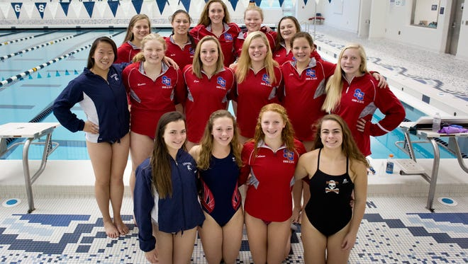 Swimmers will be competing in states this weekend.
