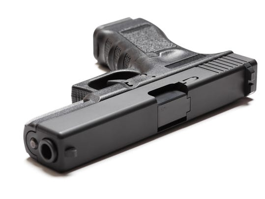 9mm semi-automatic pistol