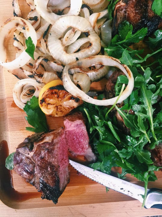 Food Grilled Lamb Chops (2)