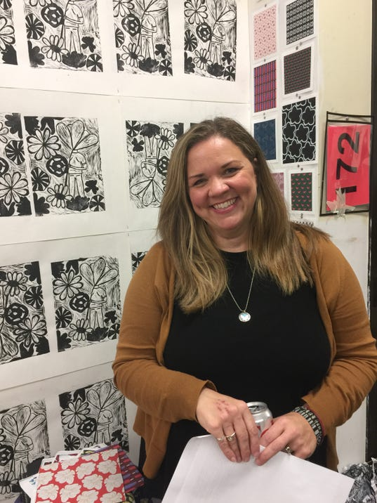 Kelly Frederick Mizer art teacher at Wauwatosa East High School.