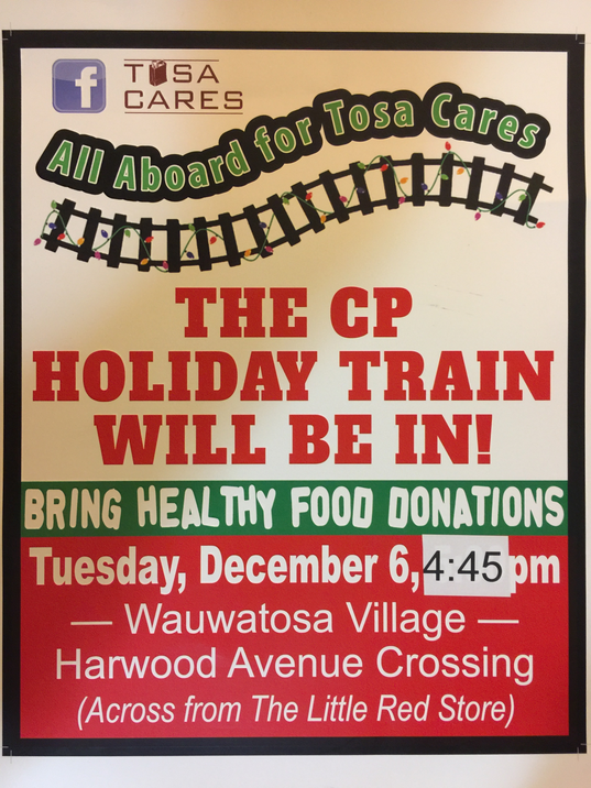 Holiday Train poster 2016