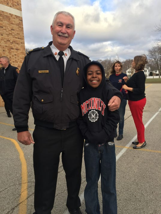 McKinley Elementary Assembly for Chief Ugaste