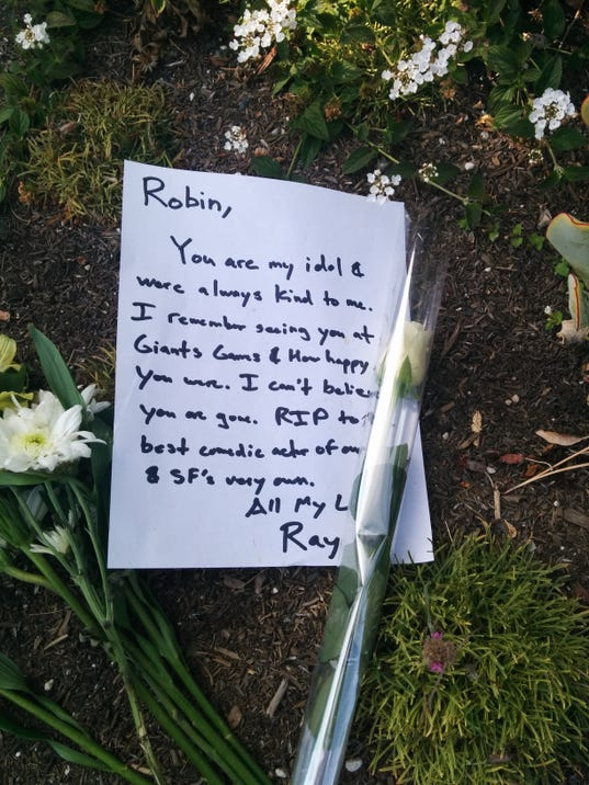 Memorial to Robin WIlliams