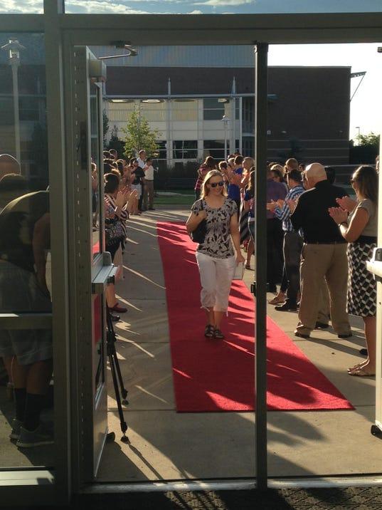 New Psd Teachers Walk The Red Carpet