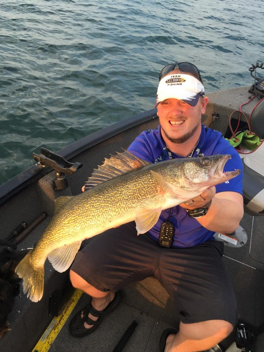 Northwest wisconsin fishing report for aug 19 for Nw fishing report