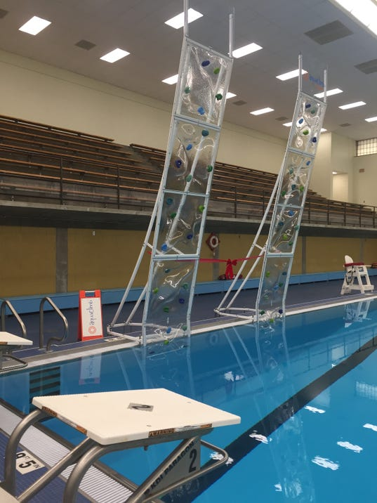 Climbing Walls Classes Now Offered At Lansing Pools