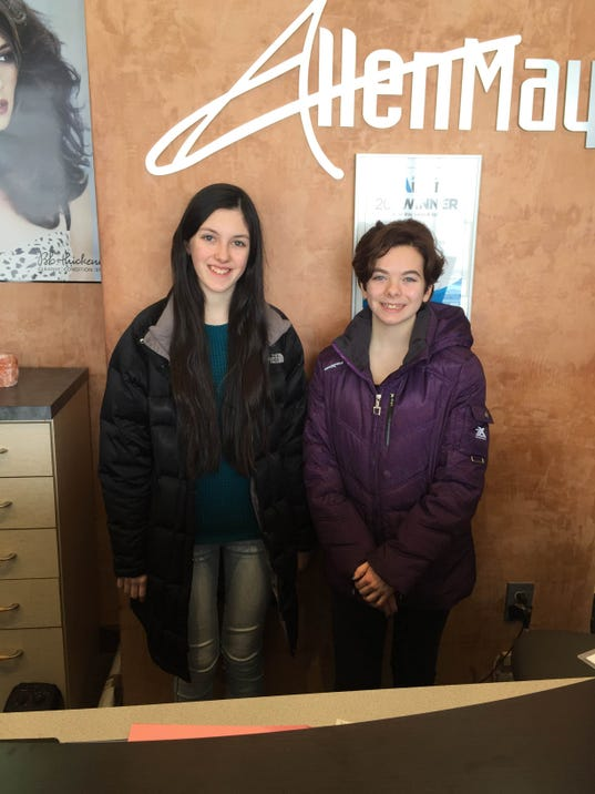 Canton salon pampers teens of cancer stricken families for Gildas salon