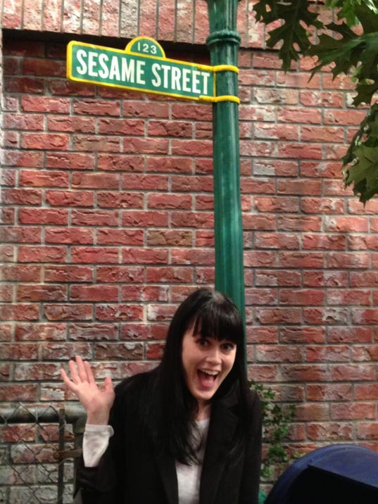 the set of  Sesame Street   Sesame Street Set Tour