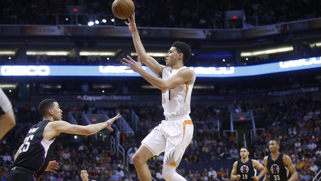 Suns rookie Devin Booker finished fourth in NBA Rookie of the Year voting,
