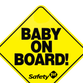 The 'Baby On Board' sign went on sale 30 years ago in September.