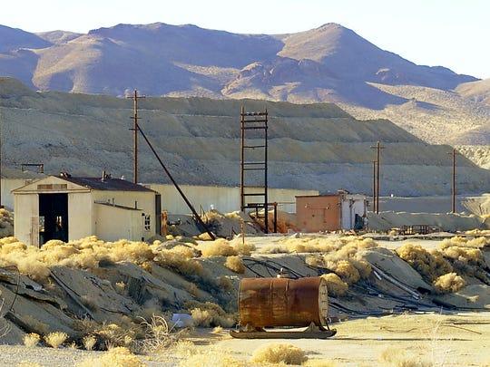 The Anaconda Copper Mine outside Yerington will no