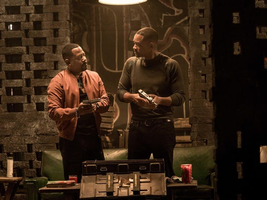 """Marcus Burnett (Martin Lawrence), left, and Mike Lowrey (Will Smith) are back on screen for the first time in 17 years in """"Bad Boys for Life."""""""