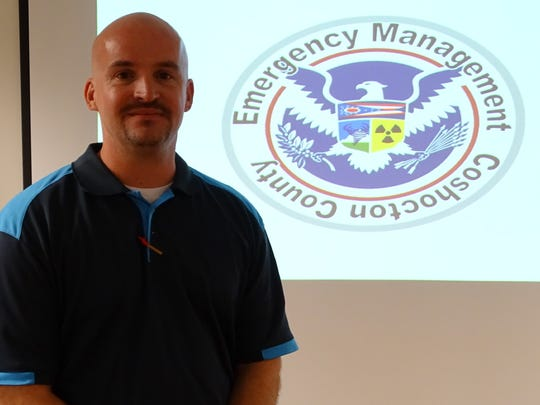 Coshocton County Emergency Management Agency Director Rob McMasters