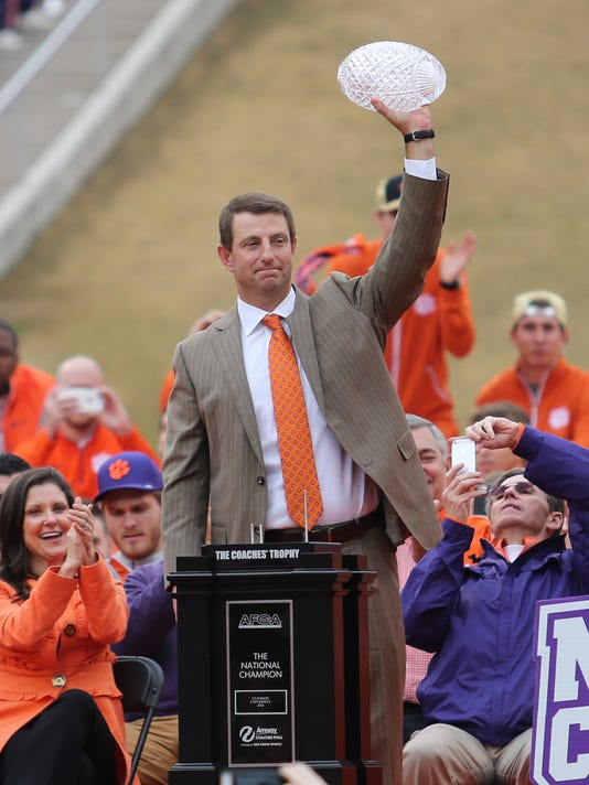 For Clemson's Dabo Swinney, it's always about what's next