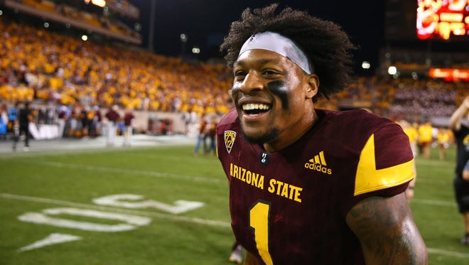 ASU receiver N'Keal Harry hadn't seen his mother and sister in years. He left Saint Vincent with his grandmother, Felina, when he was four years old.