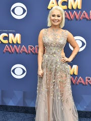 RaeLynn at the 53rd Academy of Country Music Awards at the MGM Grand Garden Arena on April 15, 2018, in Las Vegas.