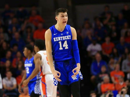 Kentucky freshman guard Tyler Herro is a Whitnall High graduate.