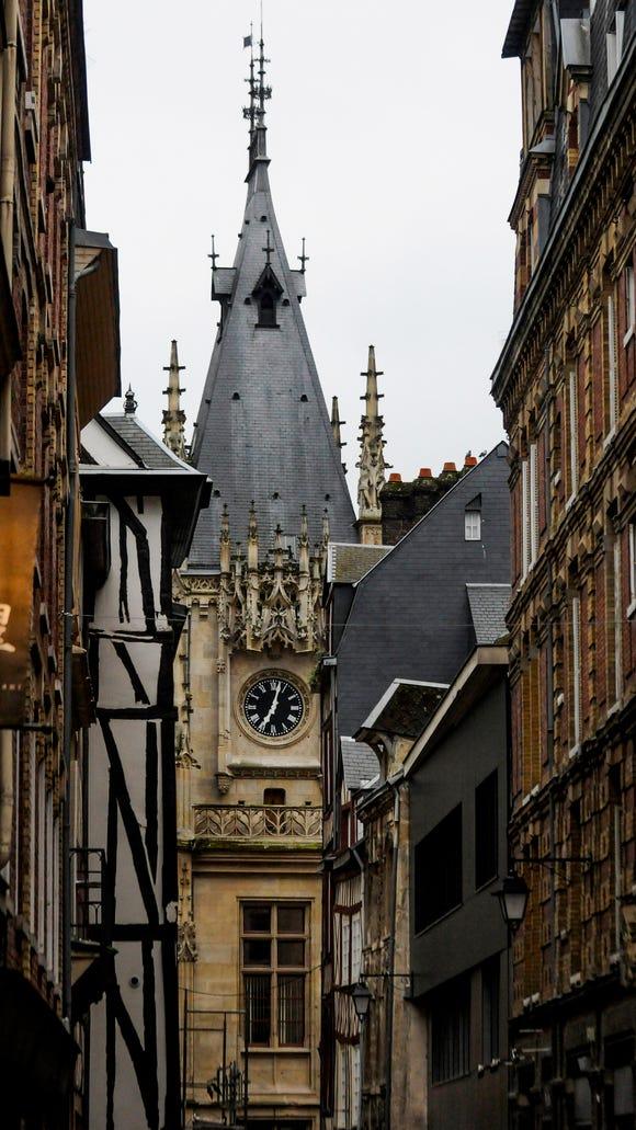 Architecture of Rouen.