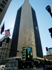 L&C Tower in downtown Nashville.