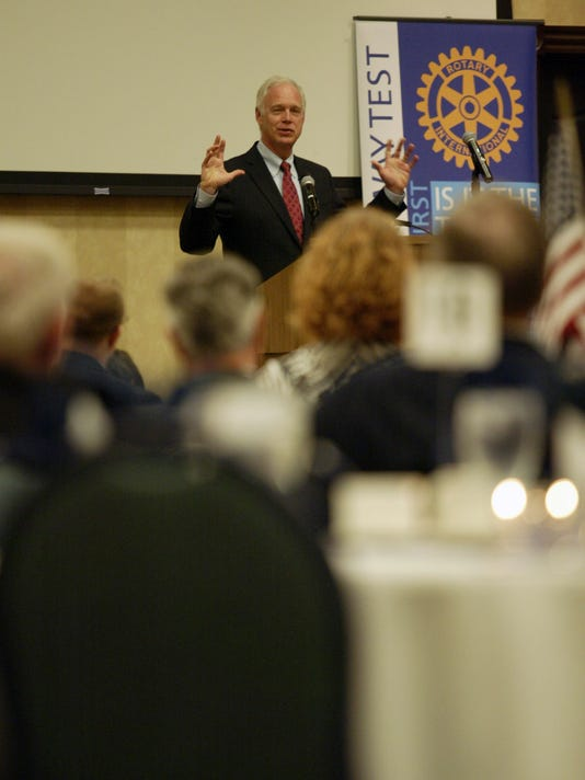 Ron Johnson in Sheboygan