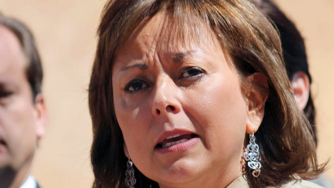 New Mexico Gov. Susana Martinez speaks on March 19, 2011, in Santa Fe.