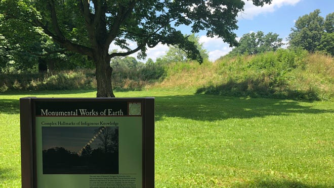 The Hopewell Earthworks, anational Historic Landmark, holds the largest set of geometric earthen enclosures in the entire world.