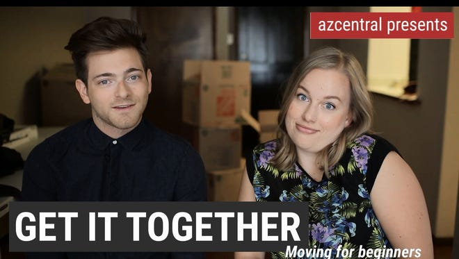 Kaila White and Garrett Mitchell give their tips on moving.