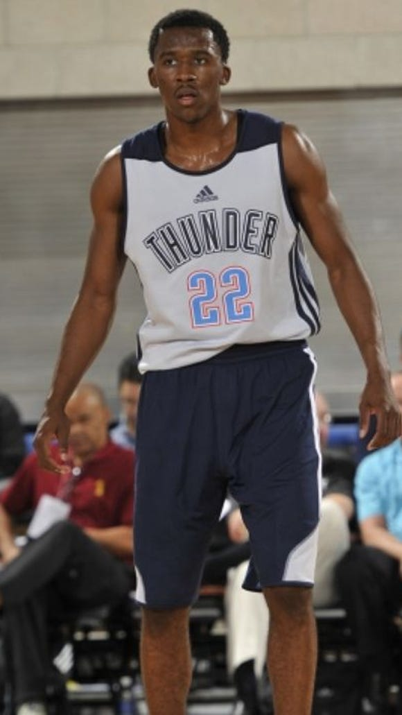Semaj Christon will sign a contract to play in the NBA's D-League for the Oklahoma City Thunder's affiliate, the Blue.