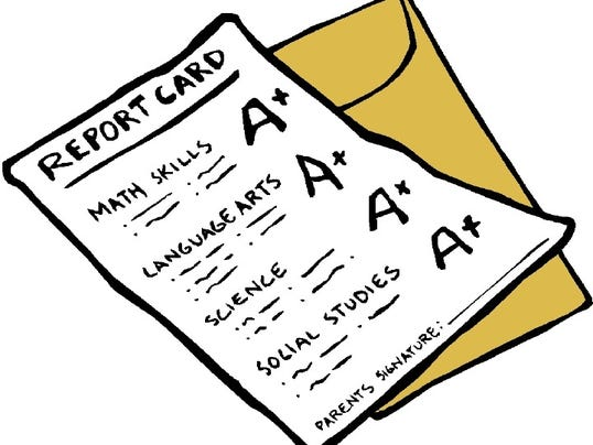 web - education report card
