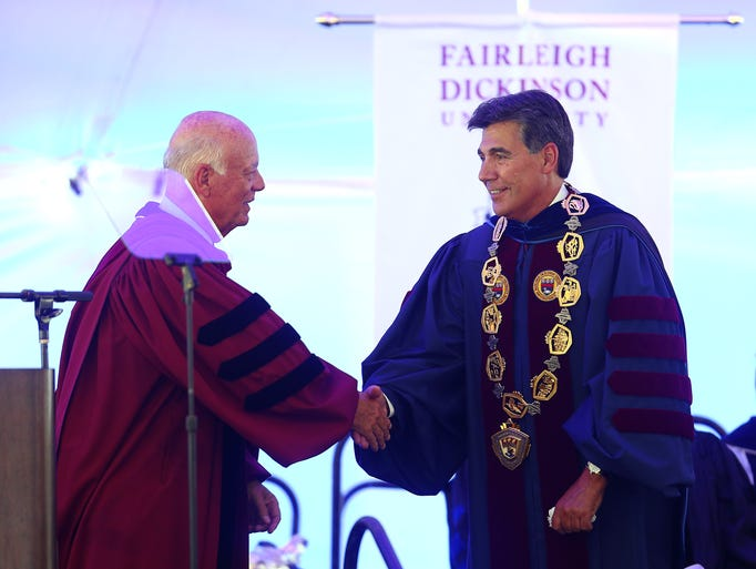 Dr Zenner photos fdu inaugurates their 8th president dr christopher capuano