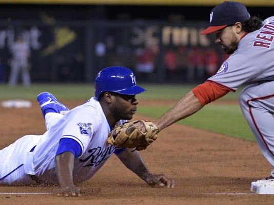 MLB: Washington Nationals at Kansas City Royals