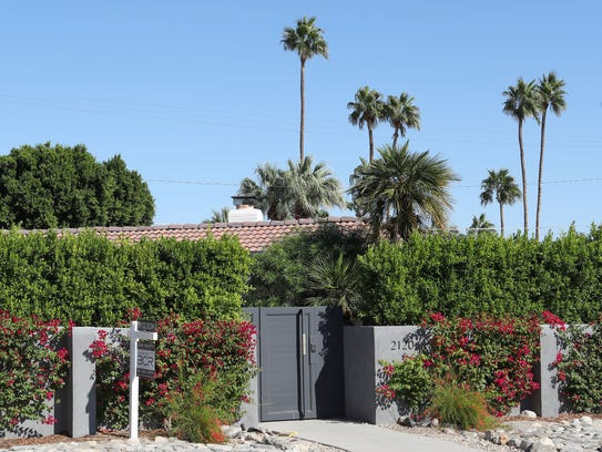 The home for sale at 2120 Junipero in Palm Springs