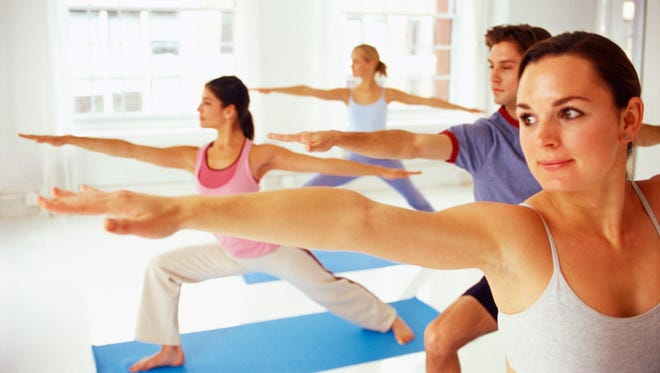 Yoga classes are offered around the mid-Hudson Valley.
