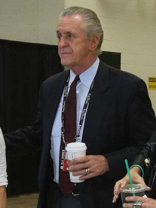 Pat Riley to Heat stars: Stay 'if you've got the guts'