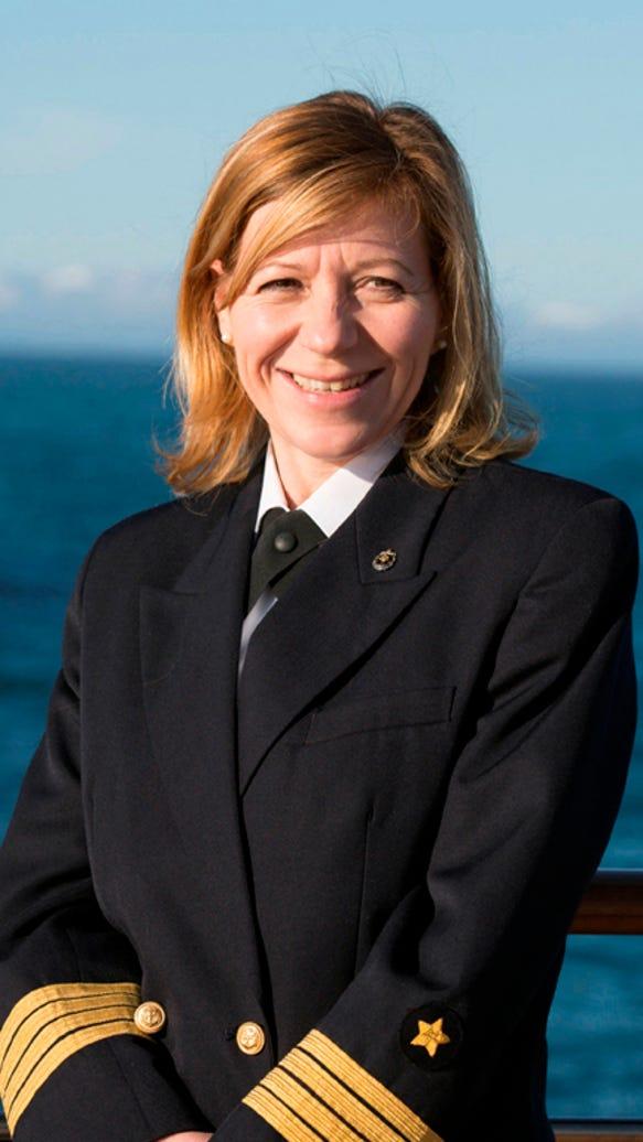 silversea female captain