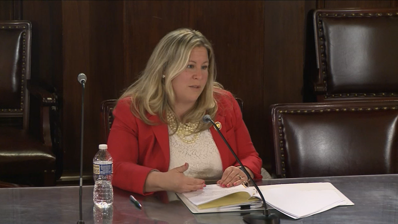 Watch: Kate Klunk advocates for domestic violence bill in Harrisburg