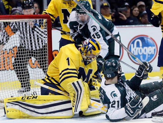 BIG10: U-M, MSU To Play In Conference Hockey Tournament