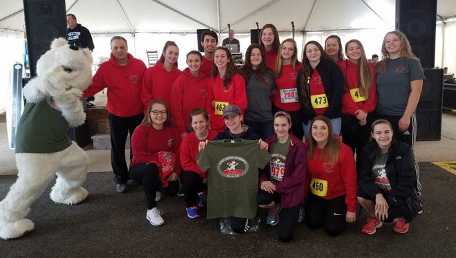 Members of the Vineland High School Crew Team participated in the Mike's Seafood Polar Bear Walk/Run for Autism on Feb. 19 in Sea Isle City. Proceeds from the event will benefit Autism Speaks, Special Services Schools, Autism Support Groups and families of special needs children.
