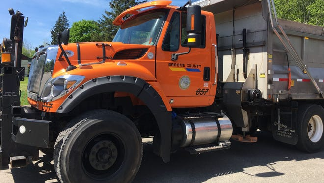 More than 38 miles of roadway throughout Broome County are scheduled to be repaired this year.