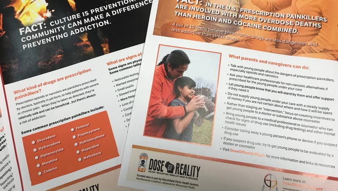 New materials for Dose of Reality, a program aimed at preventing prescription drug abuse, have been customized to appeal to American Indian audiences.