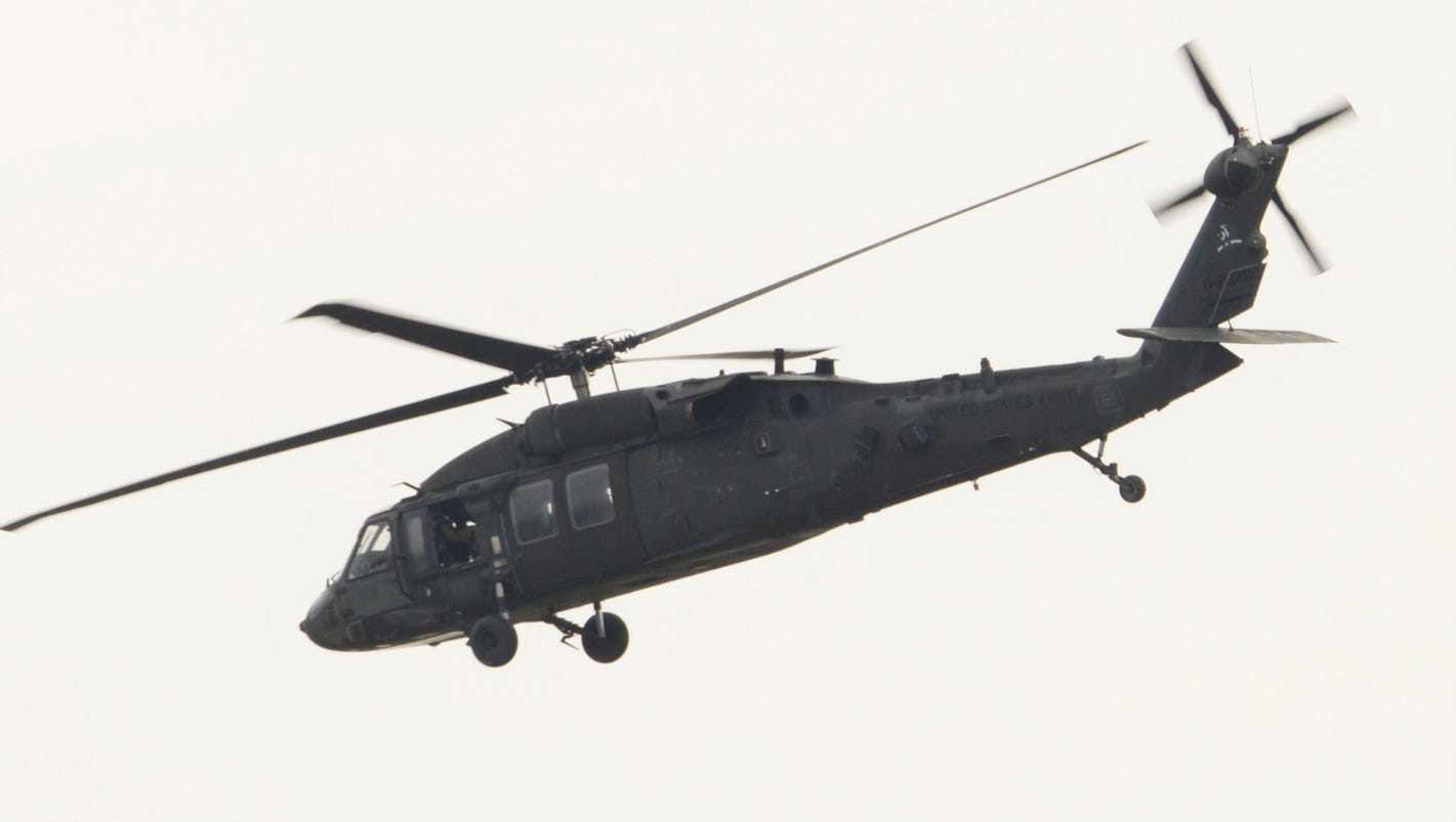 Pentagon: 7 killed in U.S. helicopter crash in Iraq