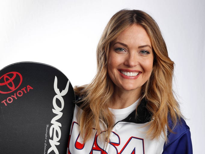Paralympic snowboarder   Amy Purdy won bronze at the